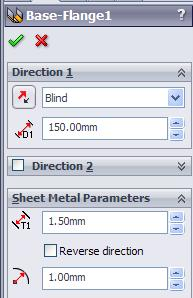 Envelopment & Development of Surfaces SolidWorks warning SolidWorks gives us a warning because the original centreline has a midpoint relation with the line we are trying to trim.