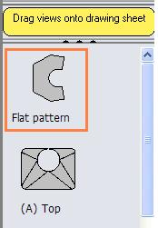 Creating a drawing: As with any Solidworks part, a drawing may be produced by selecting File, Create drawing from Part/Assembly or Choose from the standard toolbar When a drawing is