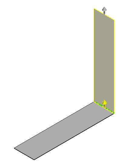 Gap distance refers to the distance between adjacent edge flanges and must be