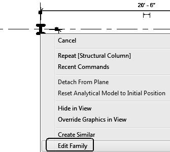 Revit Structure Basics: Framing and Documentation Command Exercise Exercise 1-2 Modify a Structural Column Family Drawing Name: modify_columns.