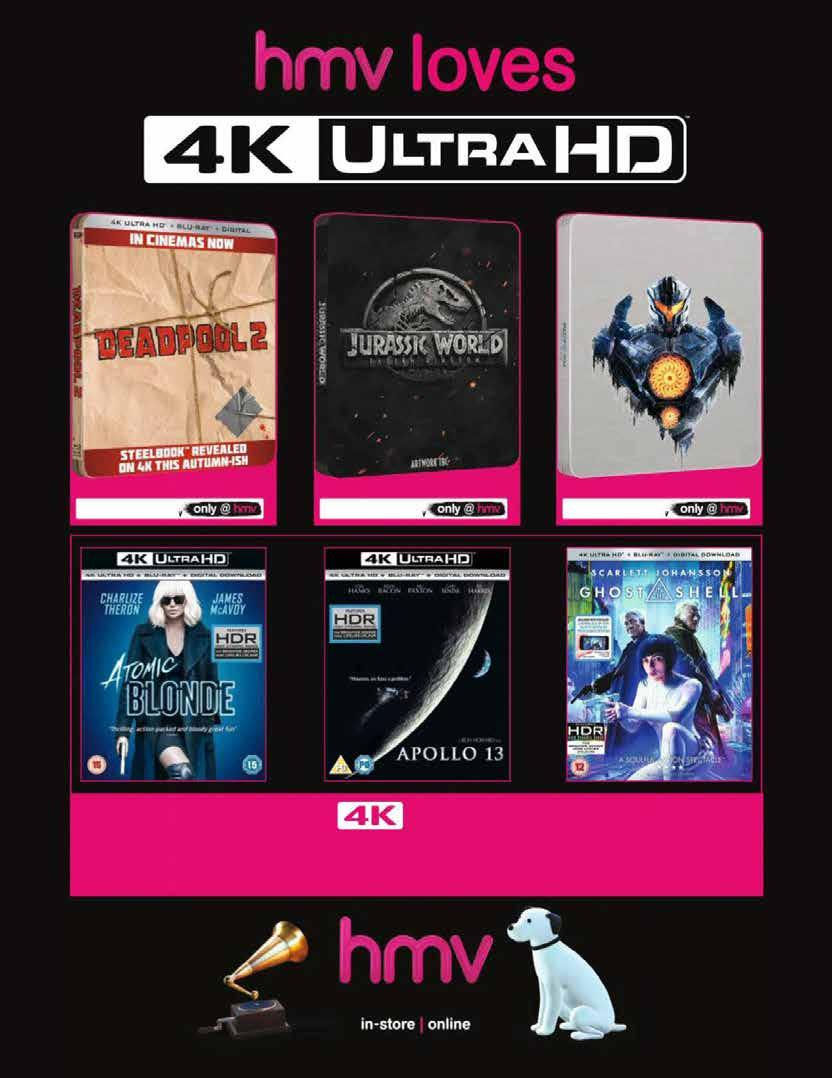 Amazing First Looks The Fuse Is Lit Most Extreme Mission Atomix Cotton Luxury Organic Vape Not Bacon Native Wicks Deadpool 2 4k Ultra Hd Steelbook Available To Pre Order Now Jurassic World Fallen