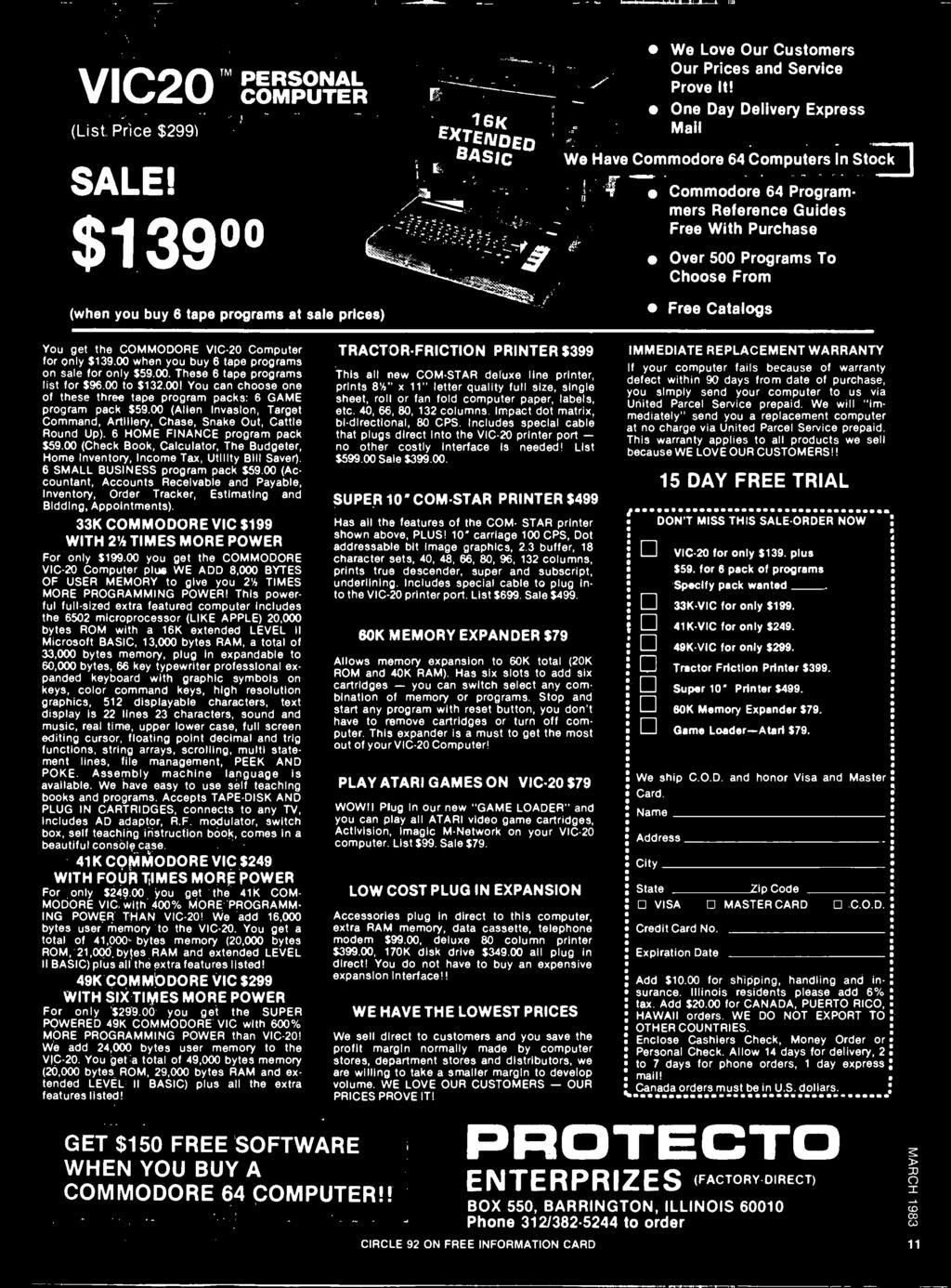 Rad Computer Corner Drawing Board State Of Solid 7505 Guitar Preamp Output Jack Wiring Commodore Vic 20 For Only 13900 When You Buy 6 Tape Programs On Sale