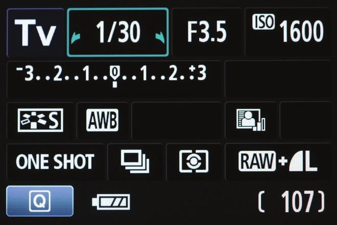 S or Tv - Shutter Priority Mode to blur or not to blur Shutter Priority mode allows you to select the shutter speed while the camera selects the aperture.