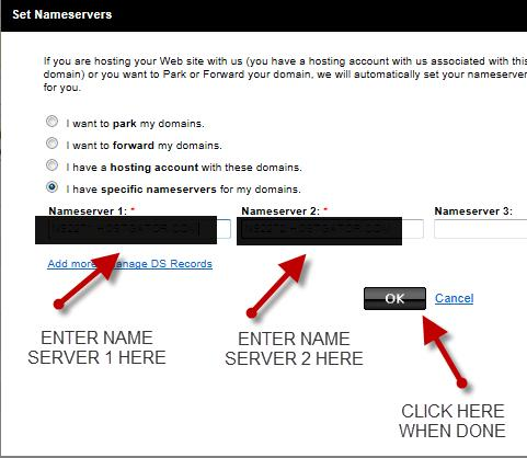 Your nameserver address should have some numbers and letters in front of the.hostgator.