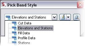 The label styles for profile views are used only for additional labels for Station Elevation or Depth added to a profile view.