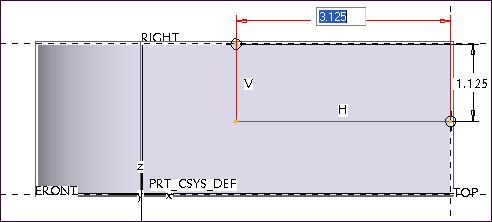 121 Modify the values for the dimensions by double clicking on a dimension and typing a new value (Fig. 4.