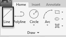 Autodesk AutoCAD 2020: Fundamentals AutoCAD allows you to draw geometry using four methods: Absolute Coordinates Relative Coordinates Polar Coordinates Direct Entry Absolute Coordinates use absolute